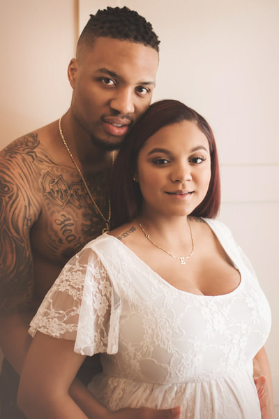 damian lillard's maternity photographer portland oregon