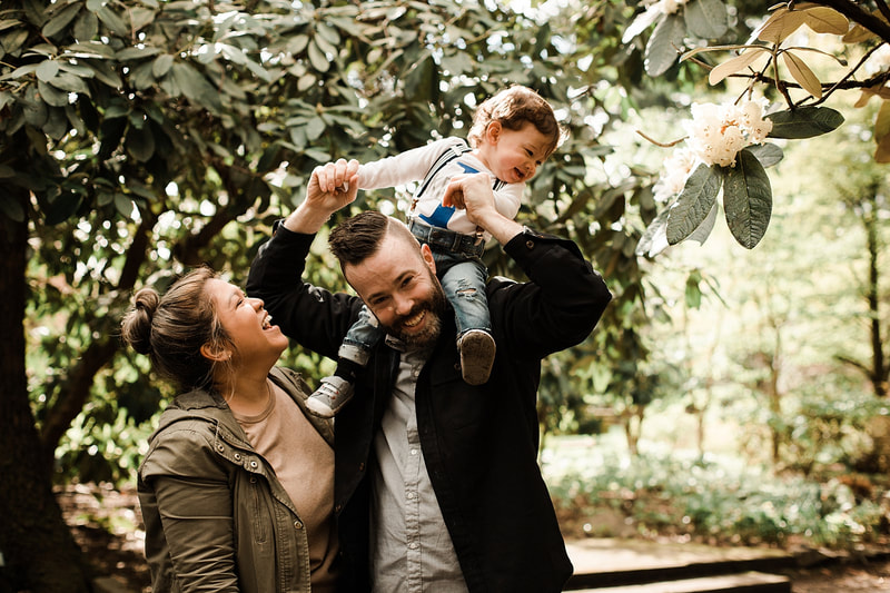 outdoor family photography in portland