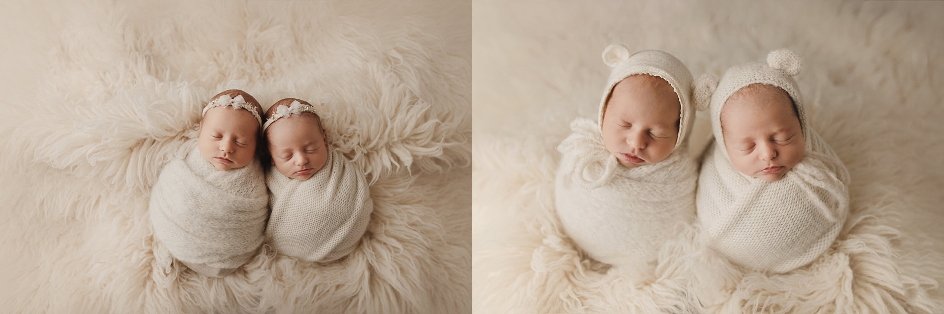 newborn twin photography portland oregon
